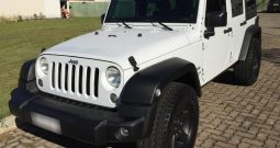 Jeep Wrangler unlimited 4pts